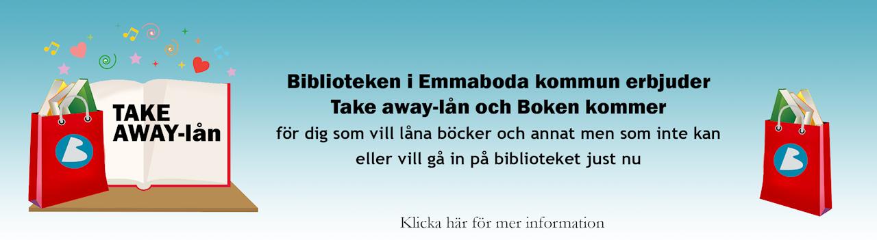 Take away-lån och boken kommer